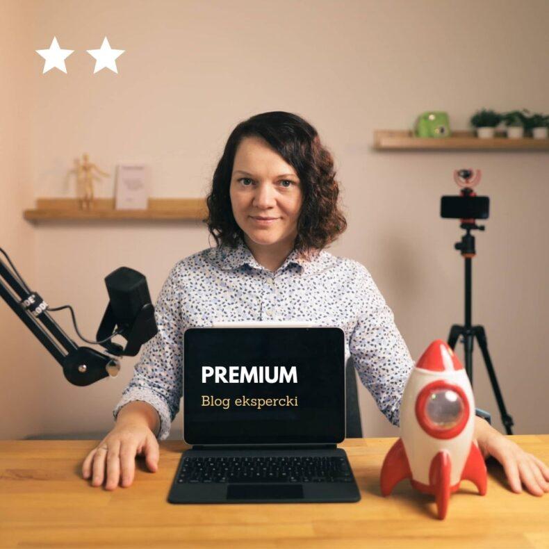 Blog ekspercki pakiet premium