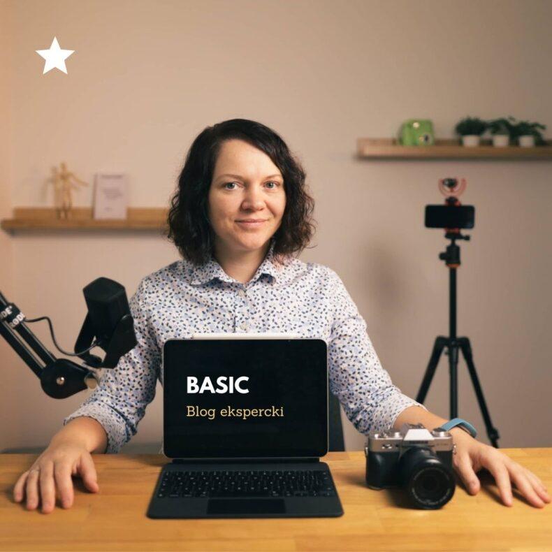 Blog ekspercki pakiet basic
