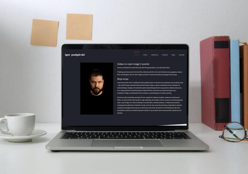 Blog ekspercki - przykłady: Igor Podgórski